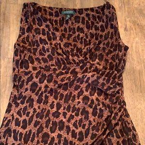 RL cheetah print dress.